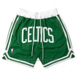 Pantaloncini Boston Celtics Just Don Verde