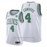 Maglia Boston Celtics Carsen Edwards #4 Association 2019-20 Bianco