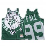 Maglia Boston Celtics Tacko Fall #99 Mitchell & Ness Big Face Verde
