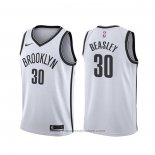 Maglia Brooklyn Nets Michael Beasley #30 Association 2020 Bianco