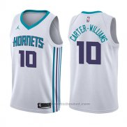 Maglia Charlotte Hornets Michael Carter-Williams #10 Association 2017-18 Bianco