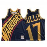 Maglia Golden State Warriors Chris Mullin #17 Mitchell & Ness Big Face Blu