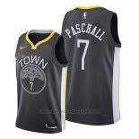 Maglia Golden State Warriors Eric Paschall #7 Statement 2019-20 Nero
