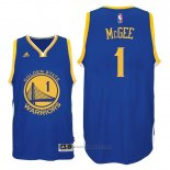 Maglia Golden State Warriors JaVale McGee #1 Blu
