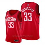 Maglia Houston Rockets Robert Covington #33 Earned 2019-20 Rosso