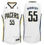 Maglia Indiana Pacers Roy Hibbert #55 Bianco