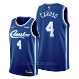 Maglia Los Angeles Lakers Alex Caruso #4 Classic Edition 2019-20 Blu