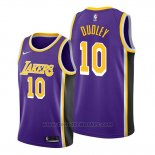 Maglia Los Angeles Lakers Jarojo Dudley #10 Statement Viola