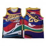 Maglia Mitchell & Ness Big Face Lebron James