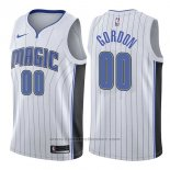 Maglia Orlando Magic Aaron Gordon #00 Association 2017-18 Bianco