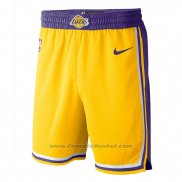 Pantaloncini Los Angeles Lakers Icon 2018-19 Giallo