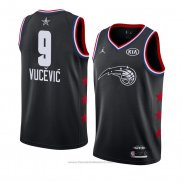Maglia All Star 2019 Orlando Magic Nikola Vucevic #9 Nero
