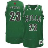 Maglia Chicago Bulls Michael Jordan #23 Retro Patricks Day Verde