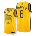 Maglia Golden State Warriors Alen Smailagic #6 Earned Giallo