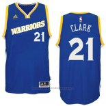 Maglia Golden State Warriors Ian Clark #21 Blu