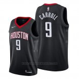 Maglia Houston Rockets Demarre Carroll #9 Statement 2019-20 Nero
