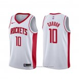 Maglia Houston Rockets Eric Gordon #10 Association Bianco