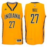 Maglia Indiana Pacers George Hill #27 Giallo