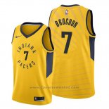 Maglia Indiana Pacers Malcolm Brogdon #7 Statement Or