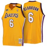 Maglia Los Angeles Lakers Clarkson #6 Retro 1999-00 Giallo