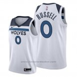 Maglia Minnesota Timberwolves D'angelo Russell #0 Association 2019-20 Bianco