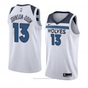 Maglia Minnesota Timberwolves Darius Johnson-odom #13 Association 2018 Bianco
