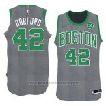 Maglia Natale 2018 Boston Celtics Al Horford #42 Verde