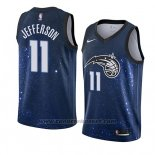 Maglia Orlando Magic Amile Jefferson #11 Citta 2018 Blu