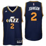 Maglia Utah Jazz Joe Johnson #2 Blu