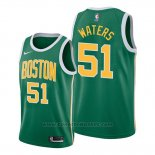 Maglia Boston Celtics Tremont Waters #51 Earned 2019-20 Verde