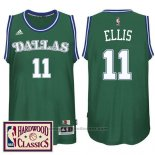 Maglia Dallas Mavericks Monta Ellis #11 Retro Verde
