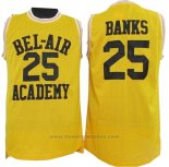 Maglia Film Bel-Air Academy Banks #25 Giallo