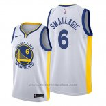 Maglia Golden State Warriors Alen Smailagic #6 Association Bianco