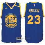 Maglia Golden State Warriors Draymond Green #23 Blu