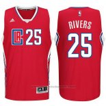 Maglia Los Angeles Clippers Austin Rivers #25 Rosso