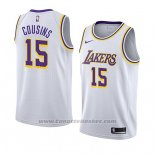 Maglia Los Angeles Lakers Demarcus Cousins #15 Association 2019-20 Bianco