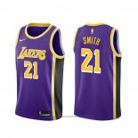 Maglia Los Angeles Lakers J.r. Smith #21 Statement 2020 Viola