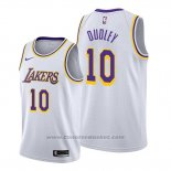 Maglia Los Angeles Lakers Jarojo Dudley #10 Association Bianco
