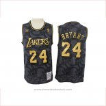 Maglia Los Angeles Lakers Kobe Bryant #24 Hardwood Classics Nero