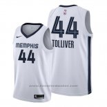 Maglia Memphis Grizzlies Anthony Tolliver #44 Association 2020 Bianco