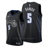 Maglia Orlando Magic Mohamed Bamba #5 Citta Edition Nero