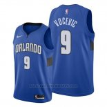 Maglia Orlando Magic Nikola Vucevic #9 Statement Edition Blu