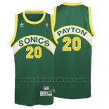 Maglia Seattle SuperSonics Gary Payton #20 Historic Retro 1995-1996 Verde