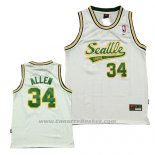 Maglia Seattle SuperSonics Ray Allen #34 Historic Bianco