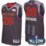 Maglia All Star 2017 Utah Jazz Gordon Hayward #20 Nero