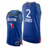 Maglia All Star 2020 Western Conference Lebron James #2 Blu
