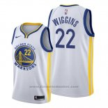 Maglia Golden State Warriors Andrew Wiggins #22 Association 2019-20 Bianco