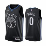Maglia Golden State Warriors D'angelo Russell #0 Citta Nero