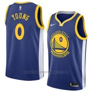 Maglia Golden State Warriors Nick Young #0 Icon 2018 Blu