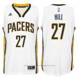 Maglia Indiana Pacers George Hill #27 Bianco